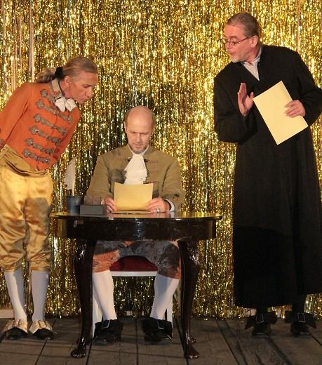 Figaro, Graf und Dr. Bartholo